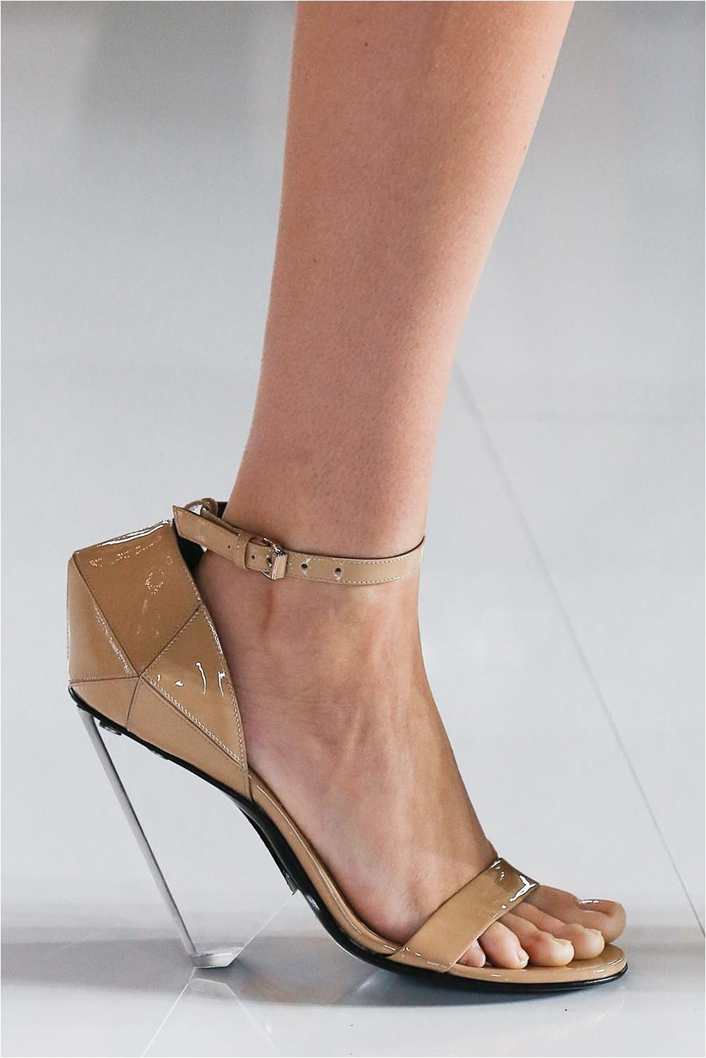 See-through shoes Balmain