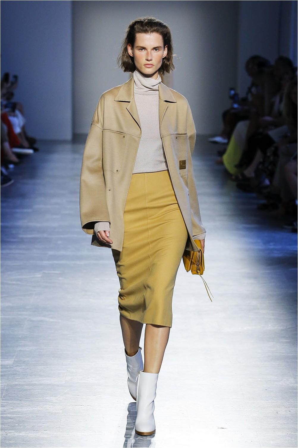 Yellow skirt Agnona