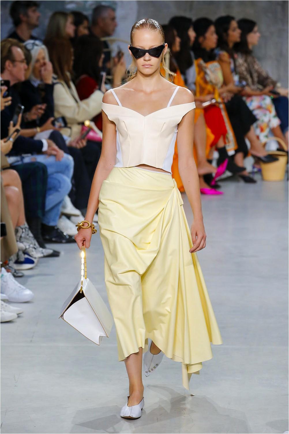 Marni Yellow Skirt