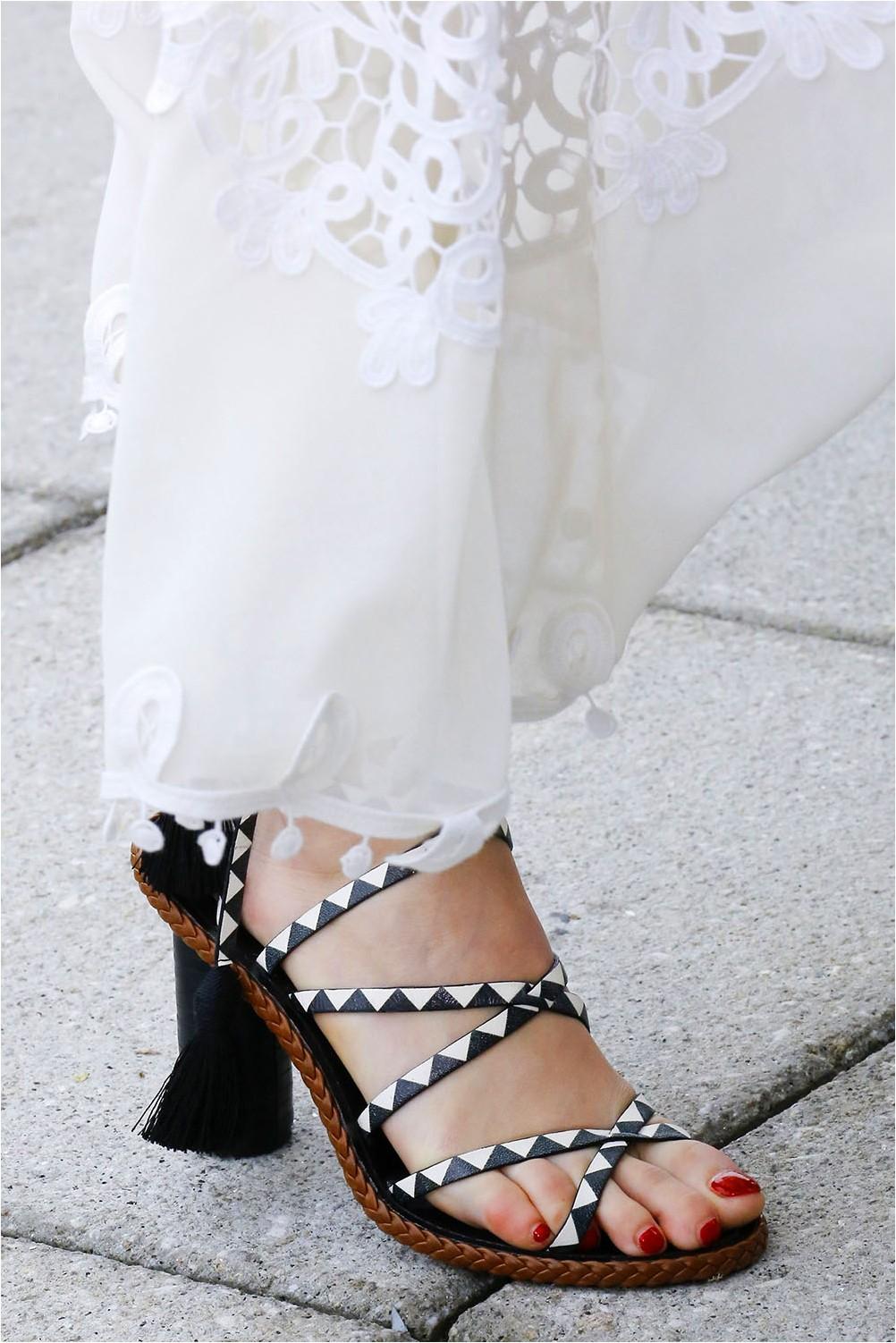 Oscar de la Renta Stiletto Sandals
