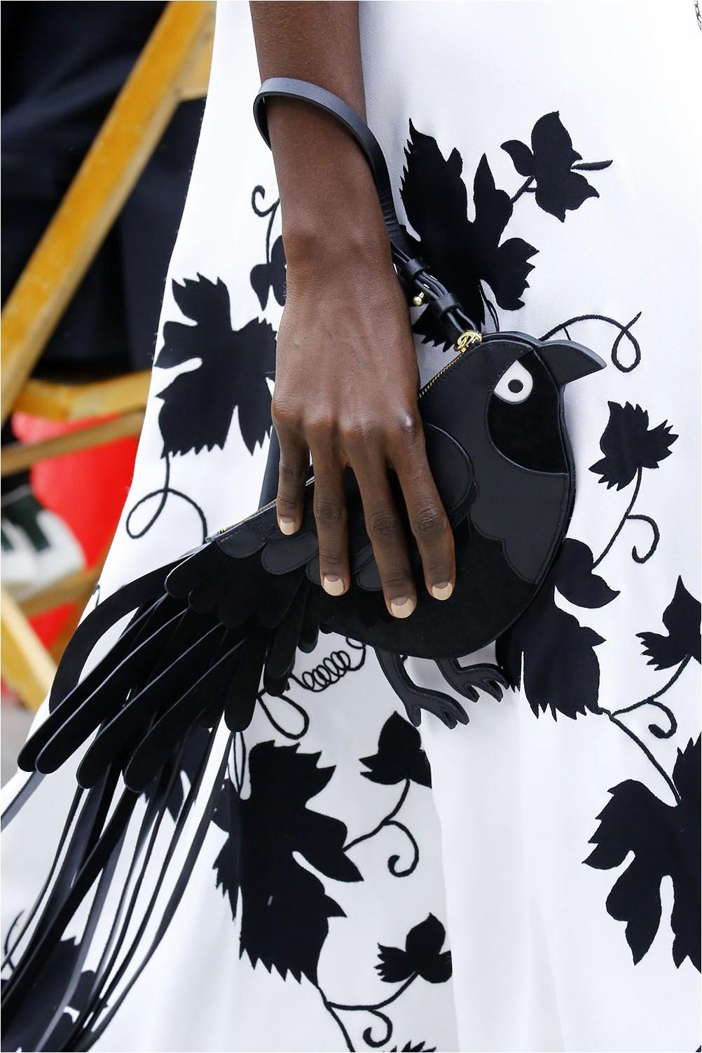 Чанта за птици Oscar de la Renta