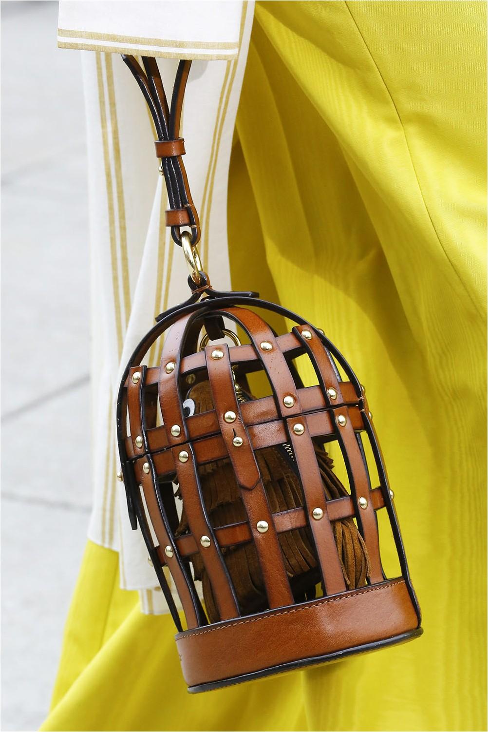 Oscar de la Renta Cage Bag
