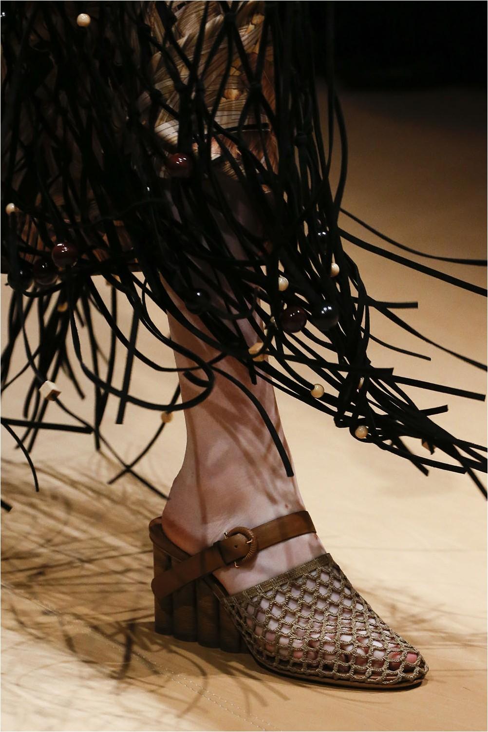 Mesh and weaving Salvatore Ferragamo