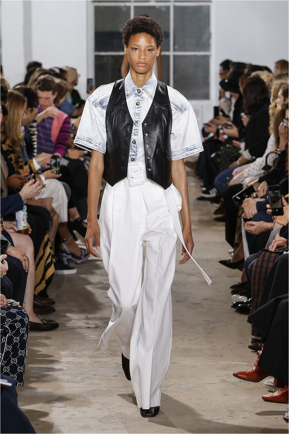 White Proenza Schouler Pants