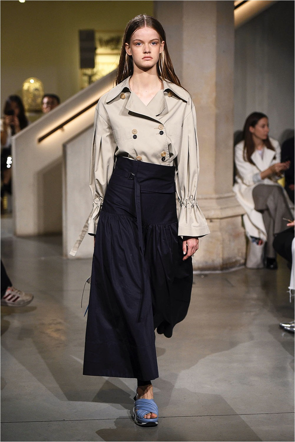Eudon Choi Wide Belt Skirt