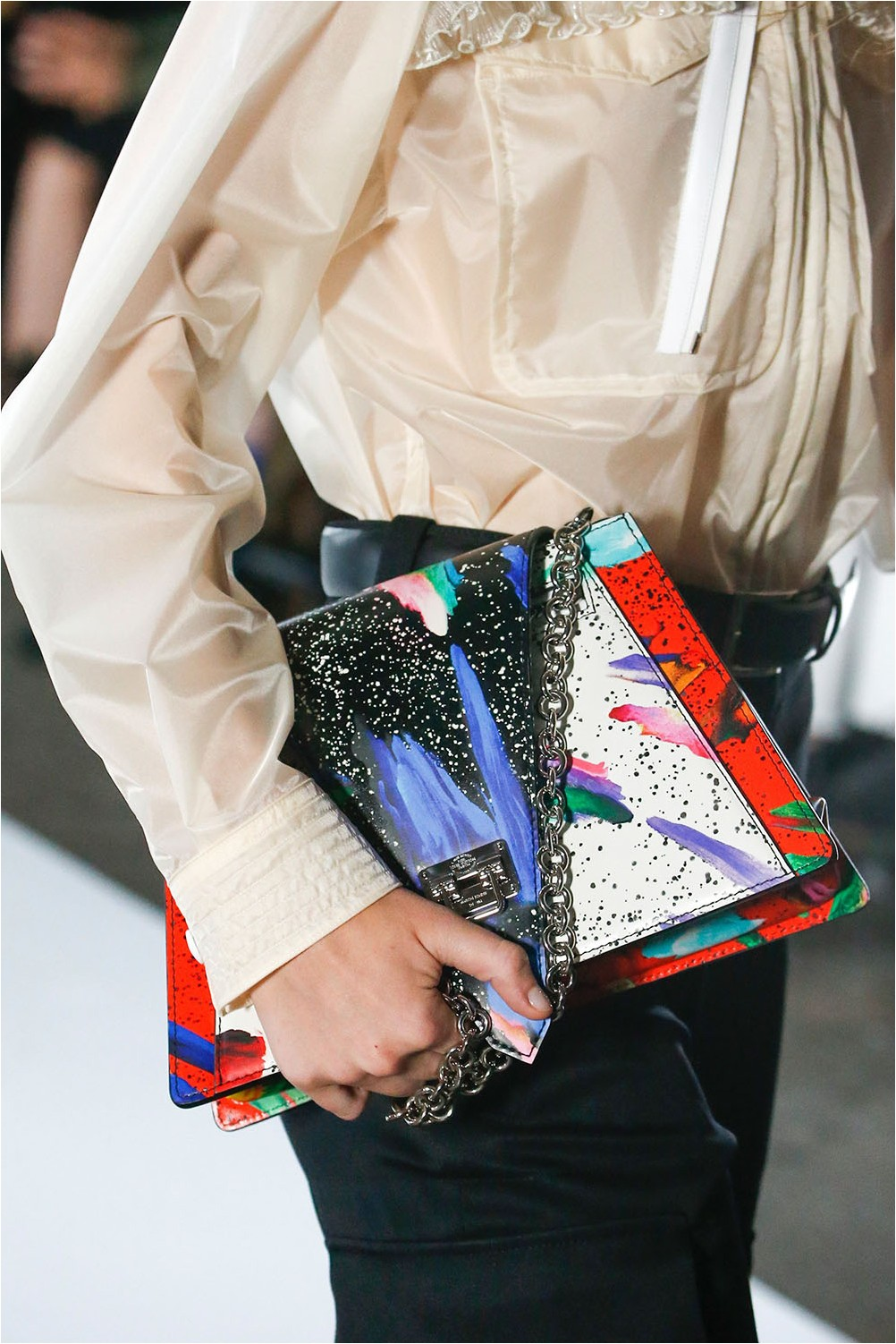 Vibrant Louis Vuitton Print