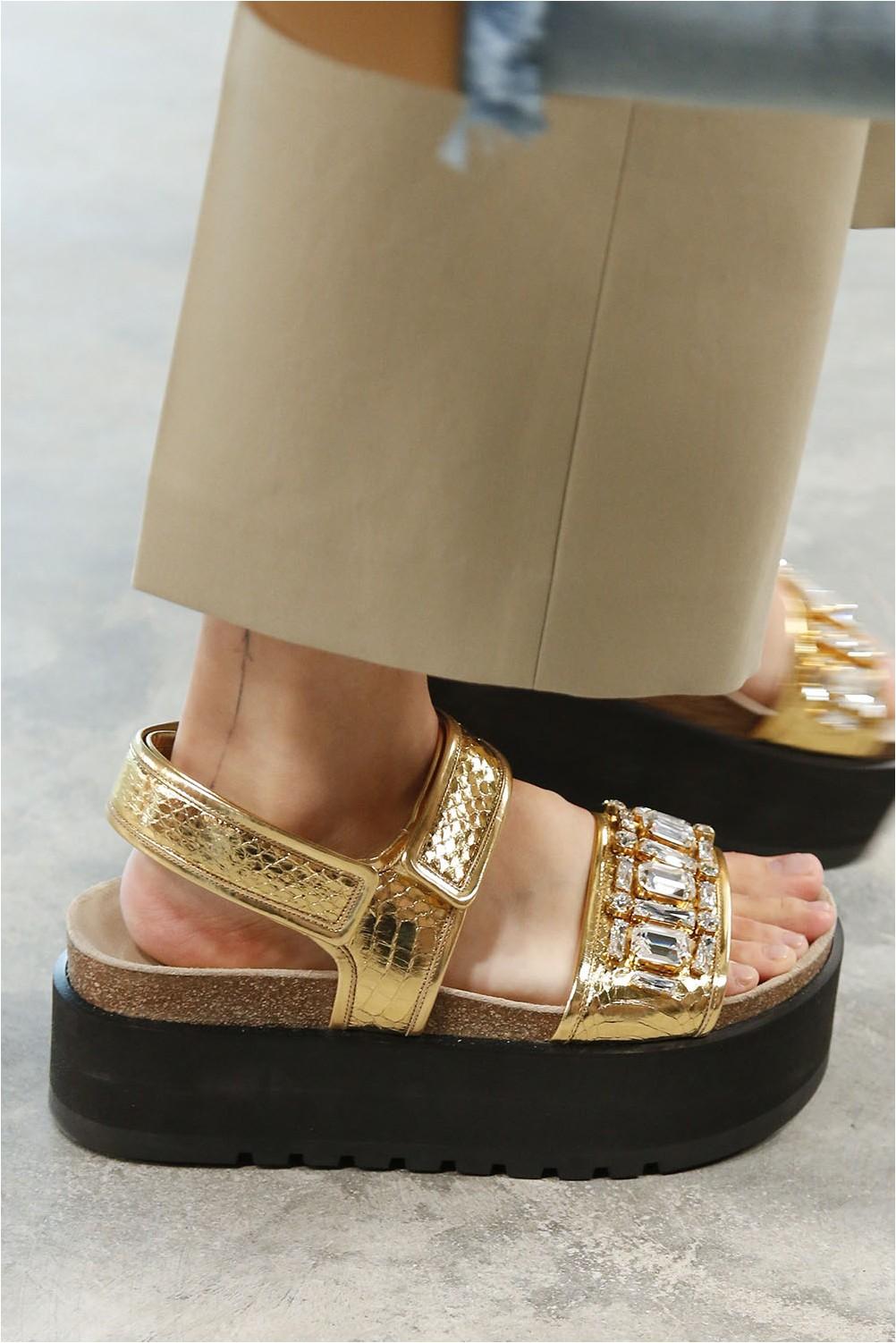Sandals platform Michael Kors