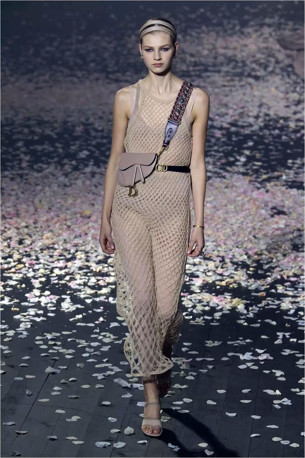 Crochet Dress Christian Dior