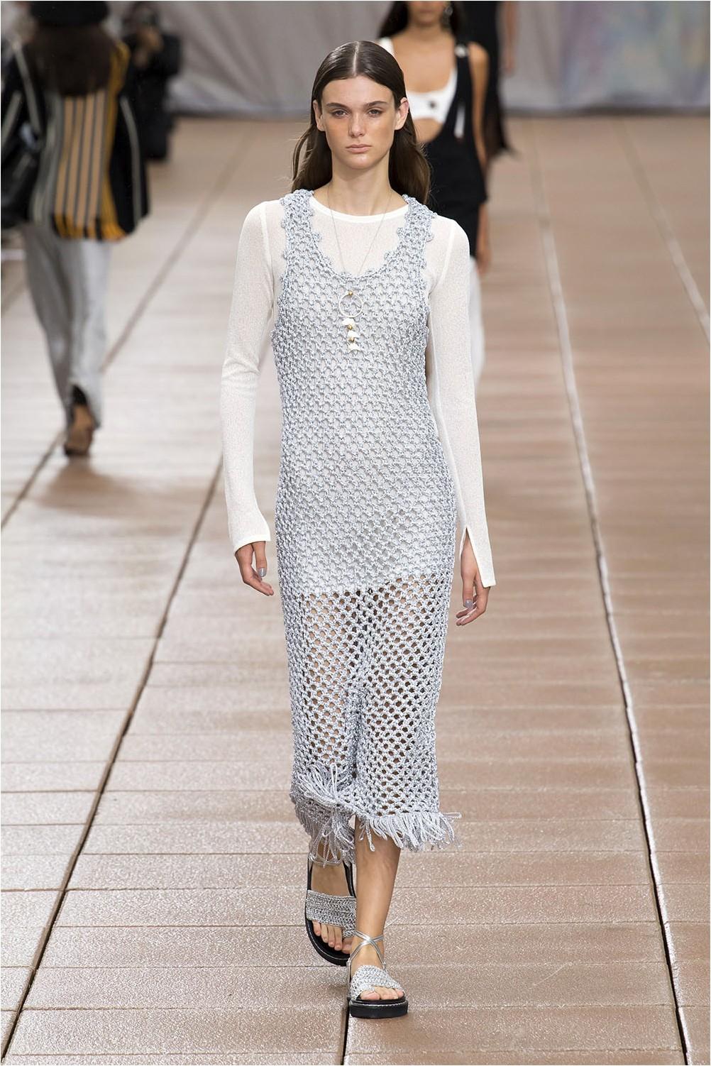 Crochet Dress 3.1 Phillip Lim