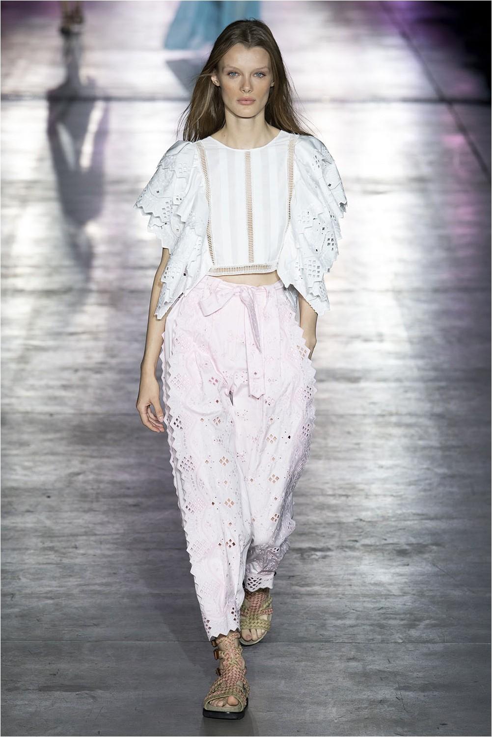 Textile lace Alberta Ferretti