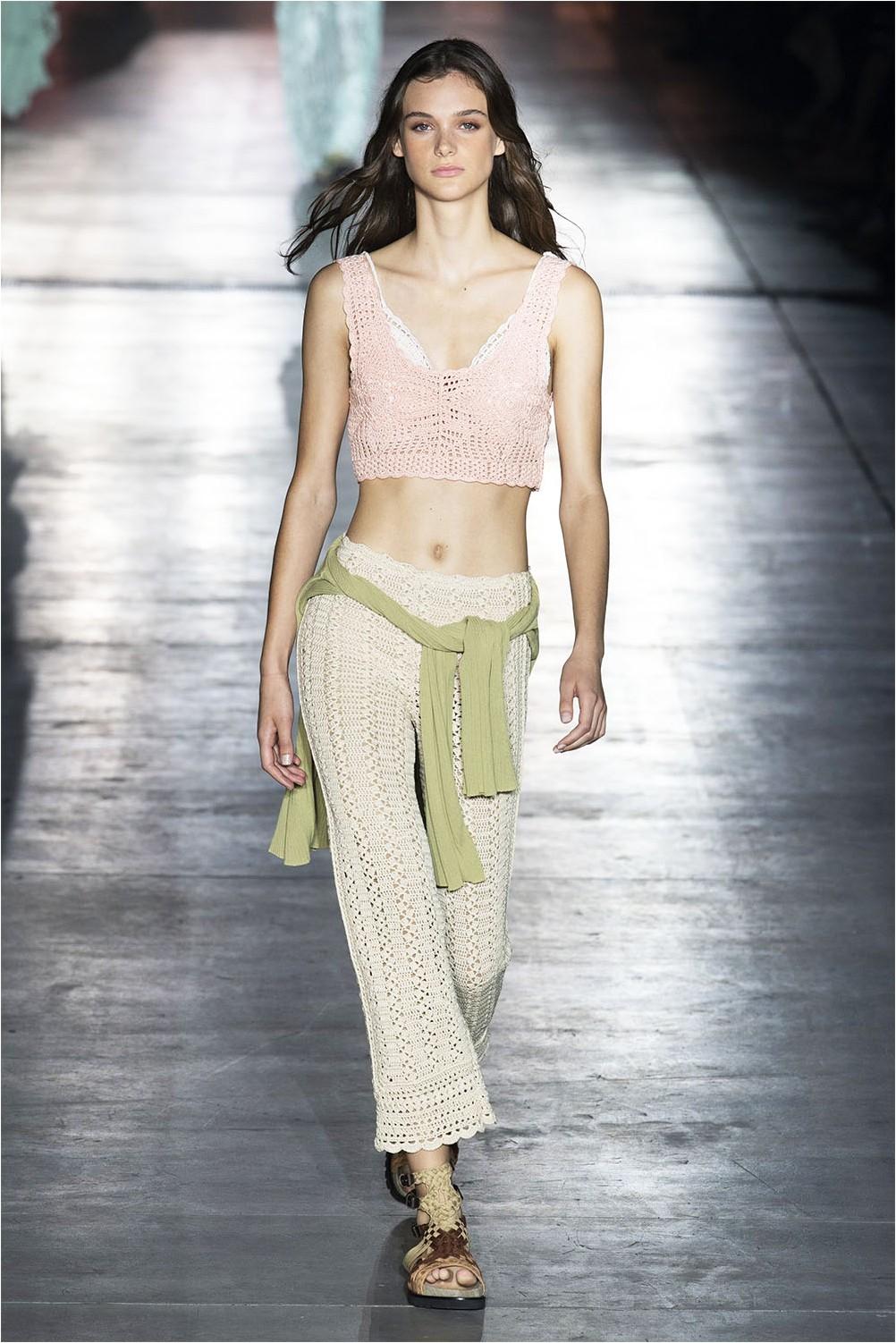 Knit pants Alberta Ferretti