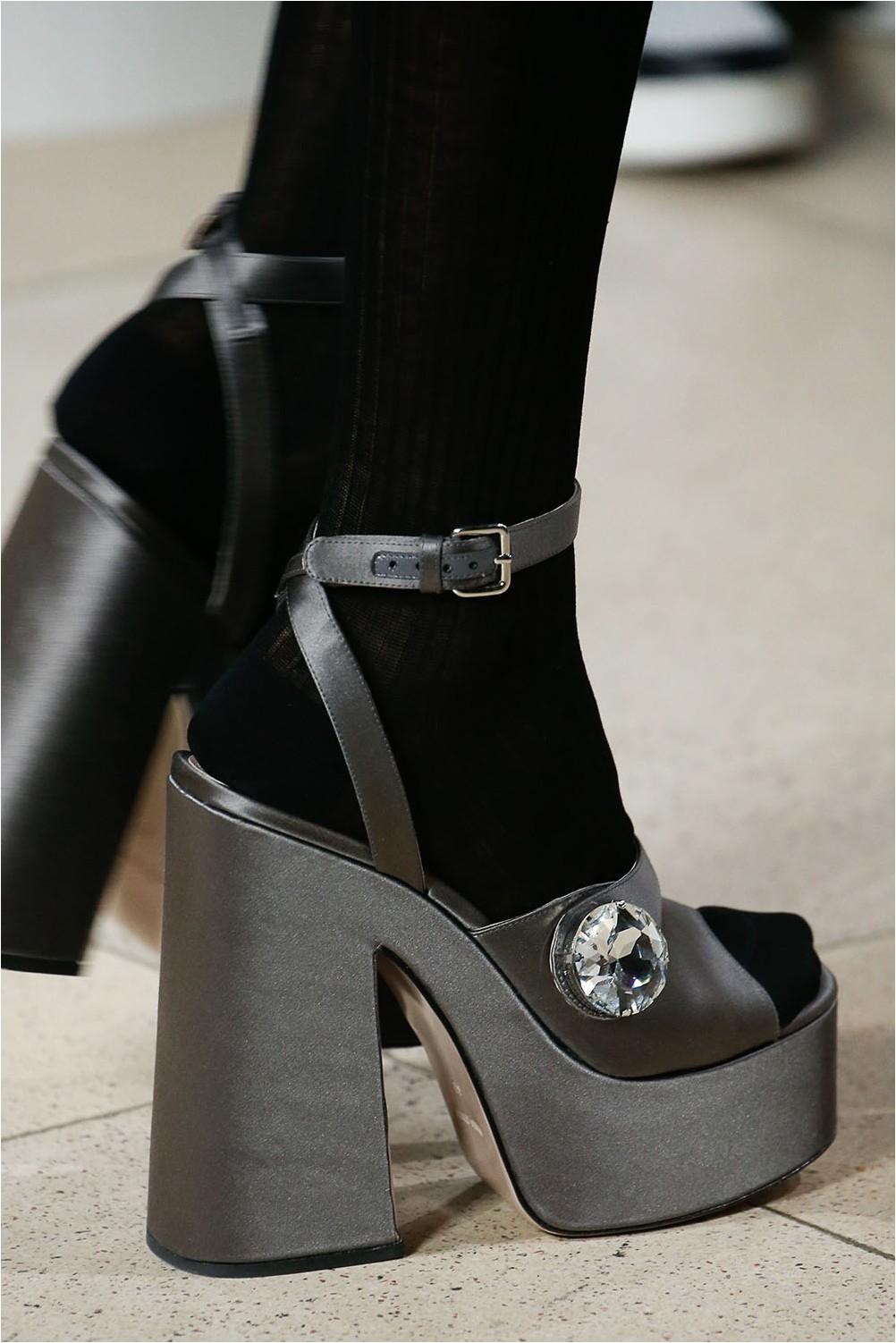 Sandals platform Miu Miu