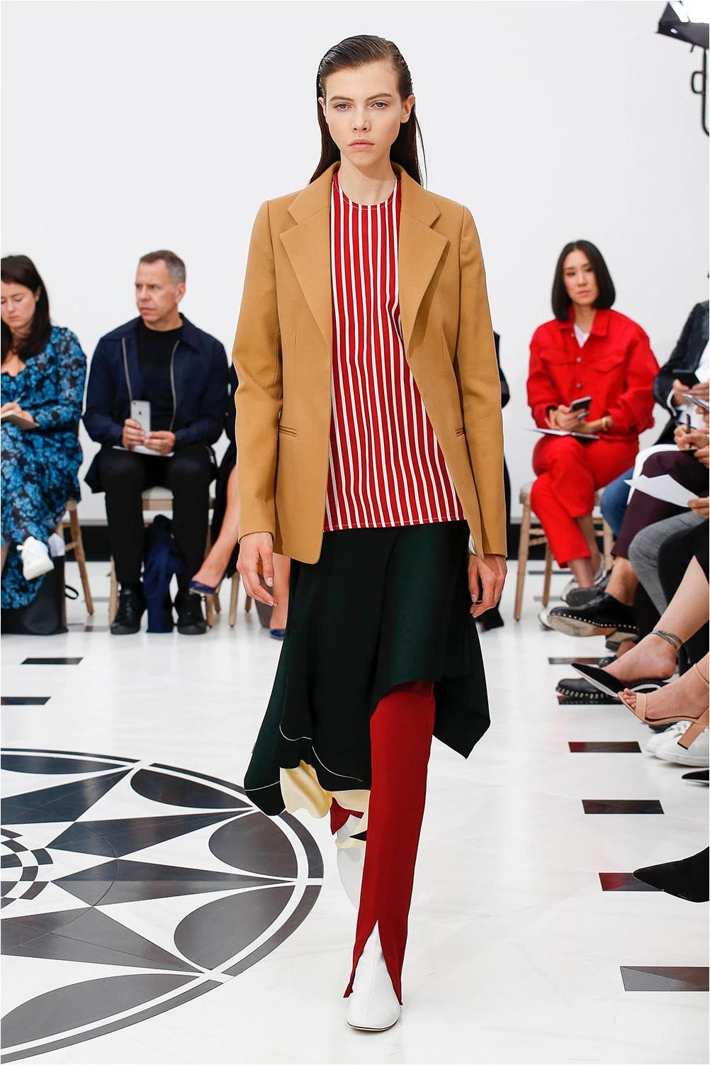 Asymmetry of Victoria Beckham