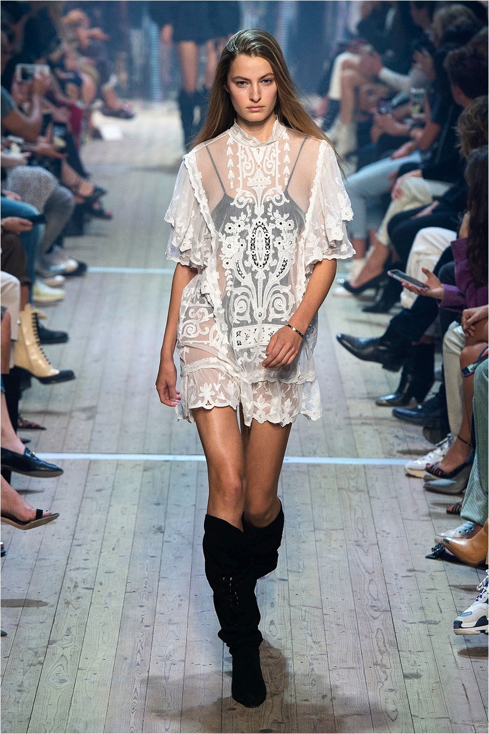 Dress with lace Isabel Marant