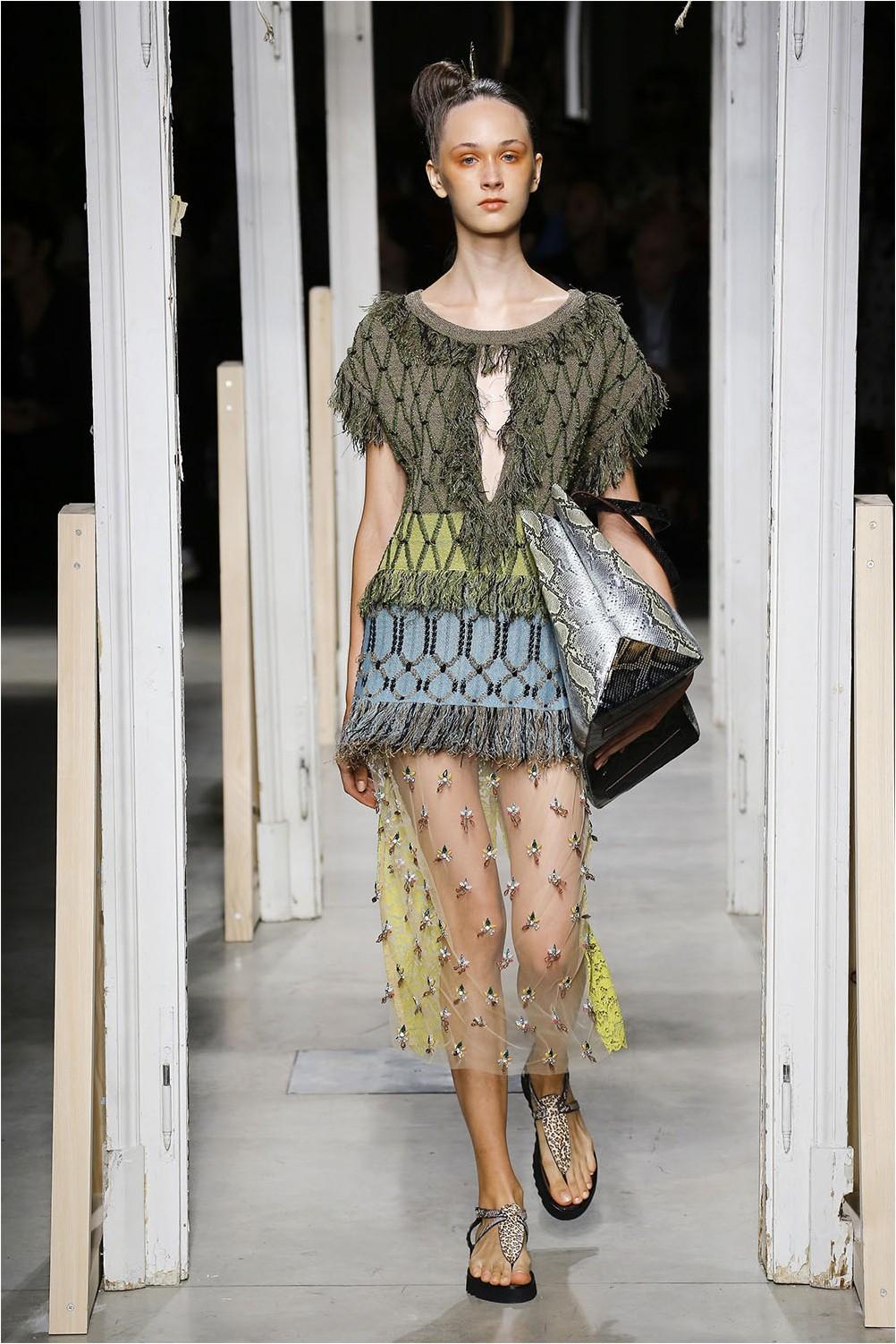 Sheer skirt Antonio Marras