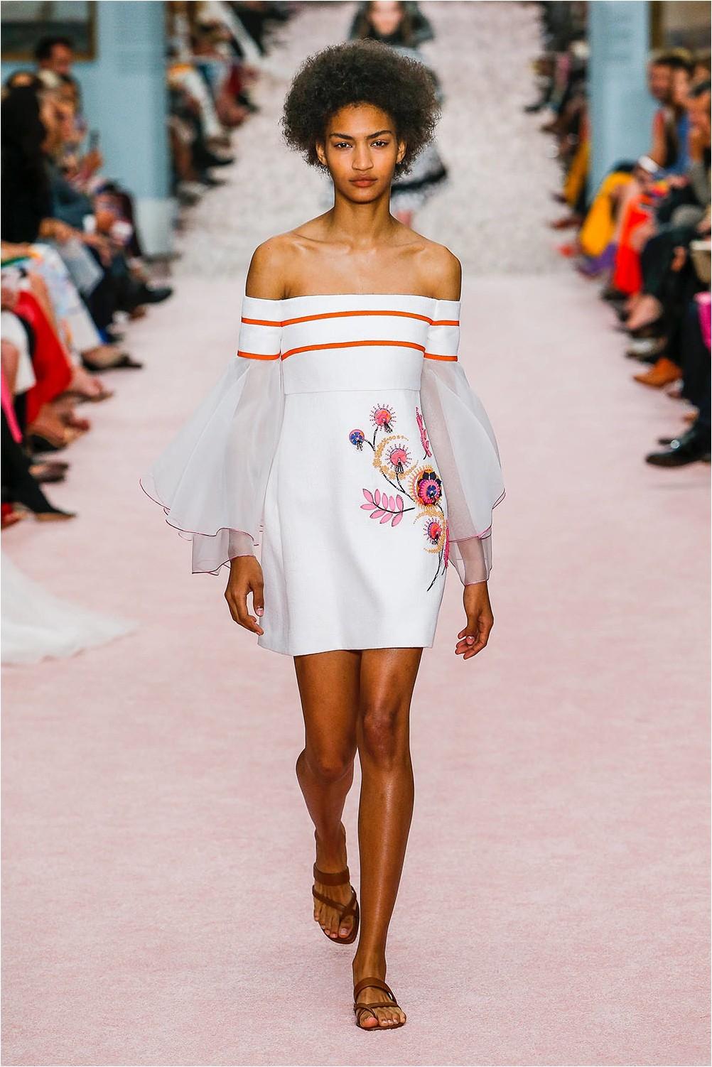 Dress with embroidery Carolina Herrera