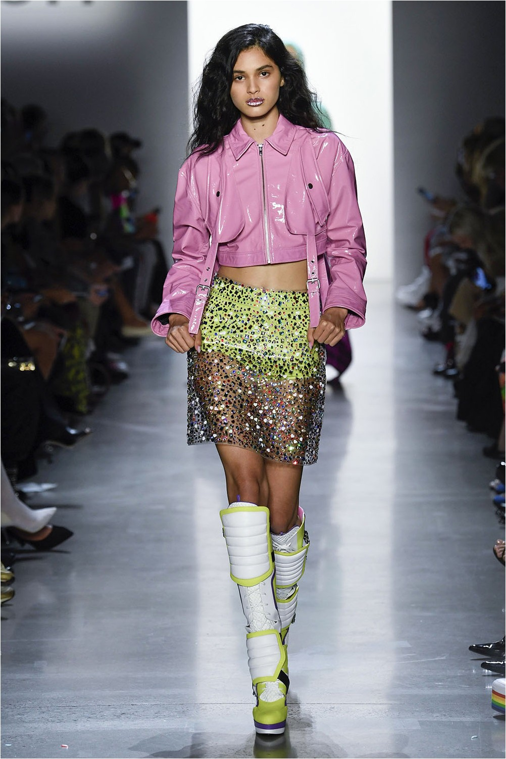 Sheer Skirt Jeremy Scott