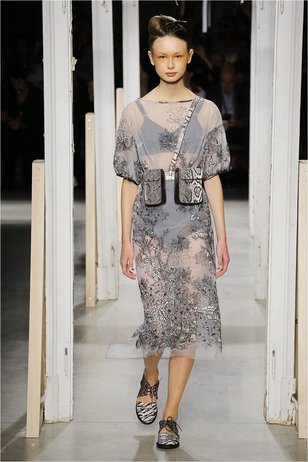 Dress with embroidery Antonio Marras