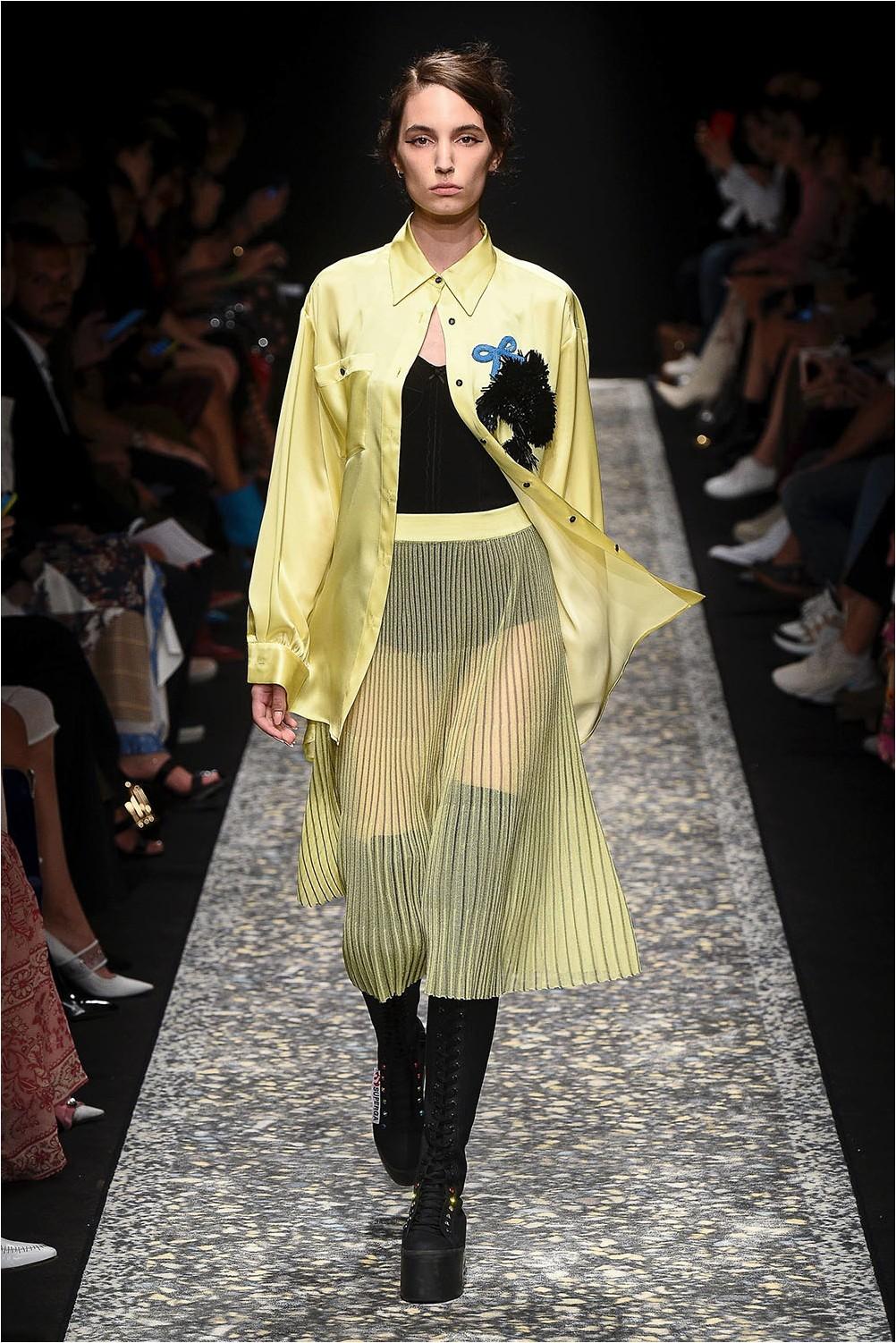 Sheer skirt Marco de Vincenzo