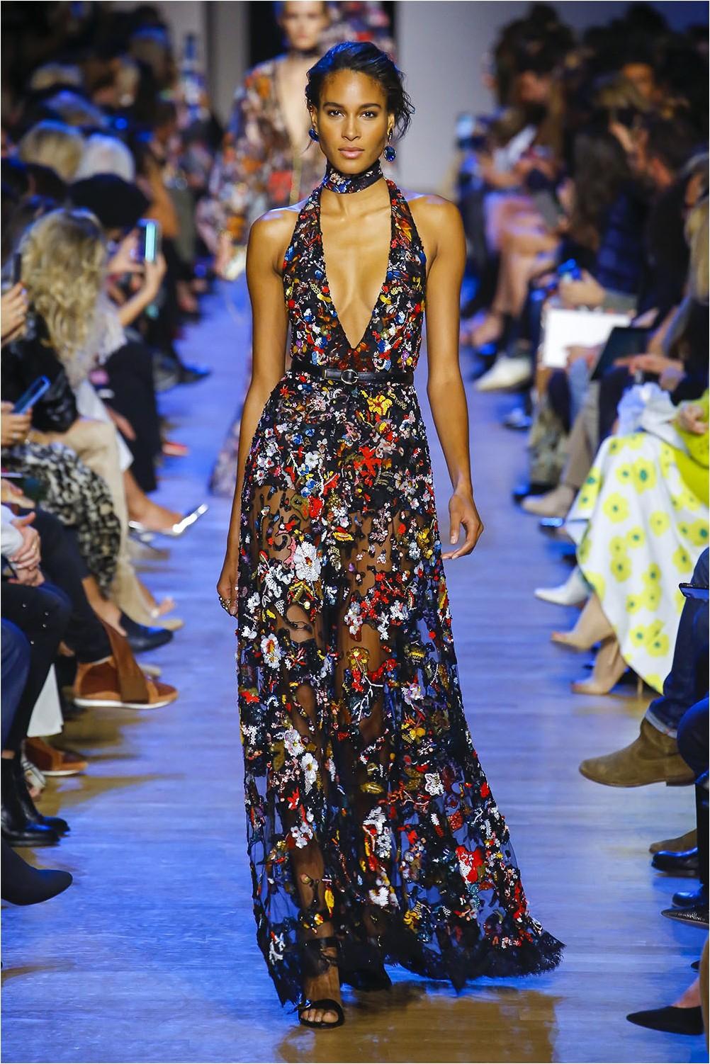 Бродирана рокля Elie Saab