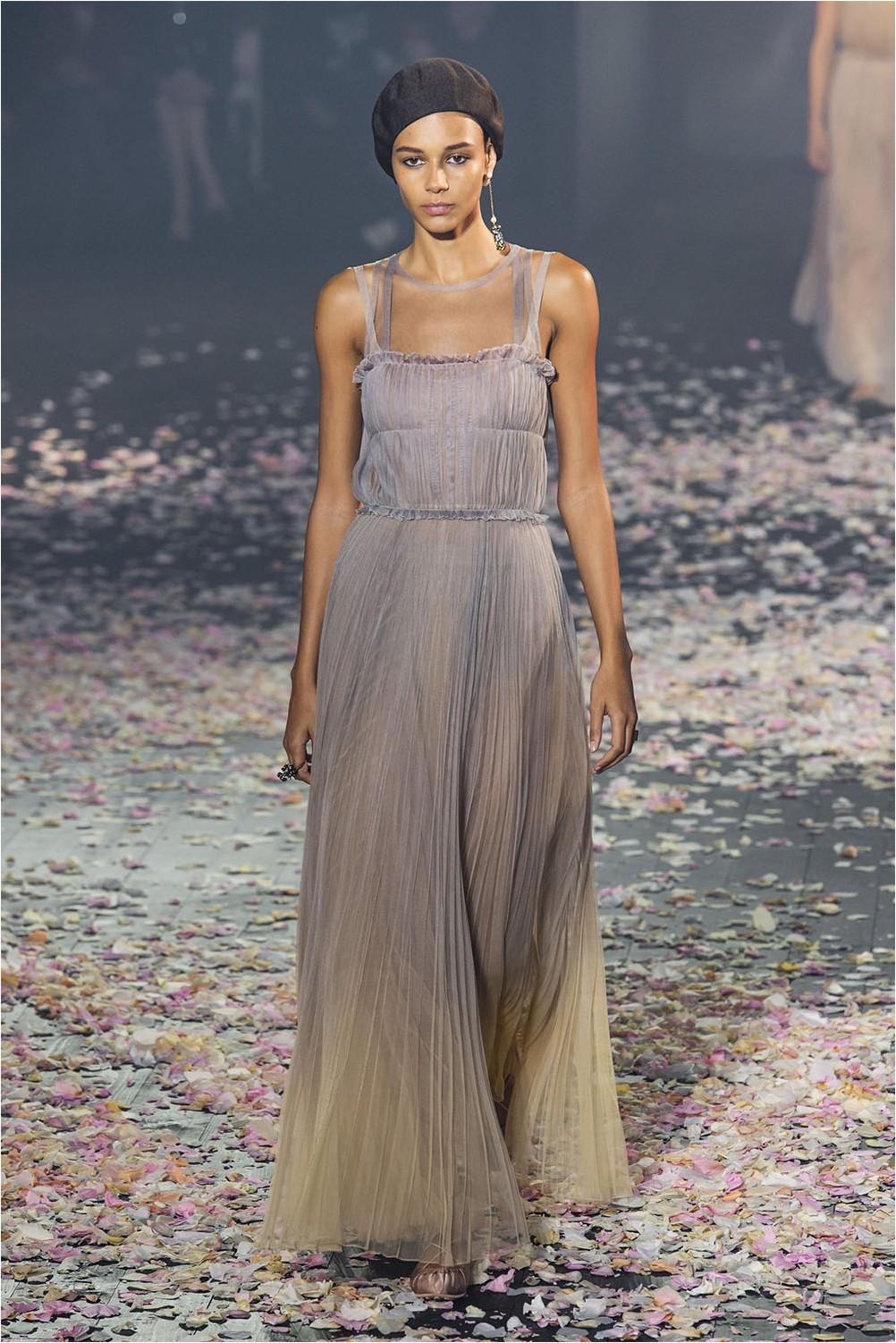 Dress degrade Christian Dior