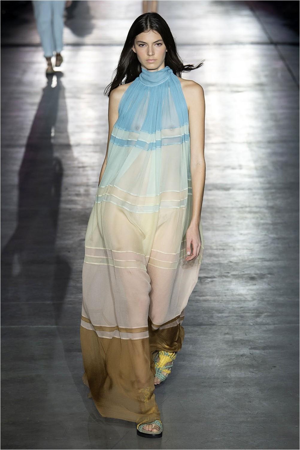 Dress degrade Alberta Ferretti