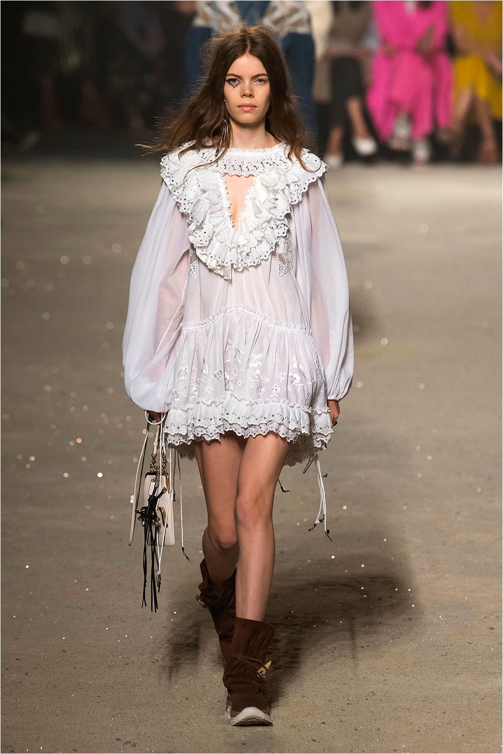 Dress with frill Coach