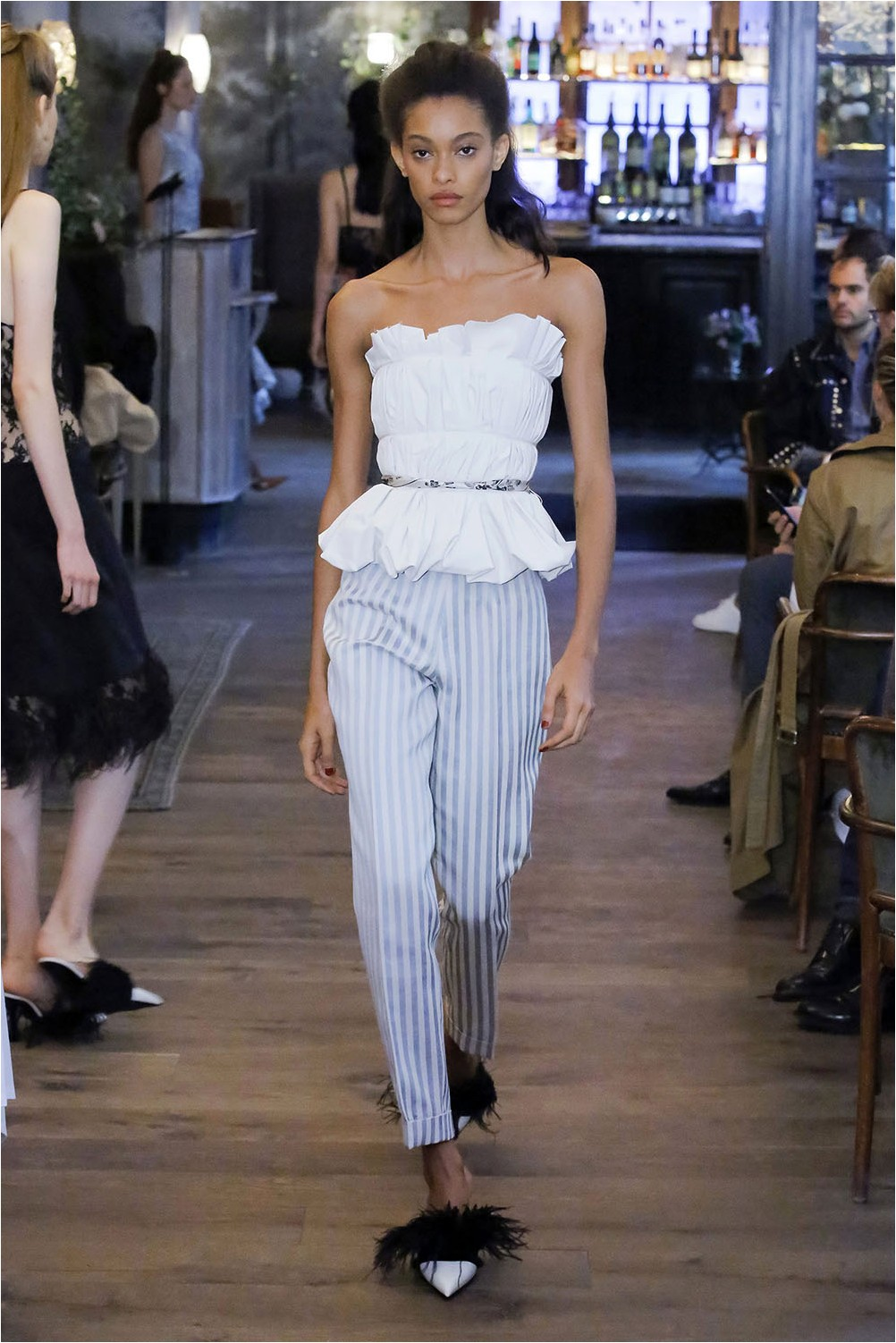 Striped Pants Brock Collection
