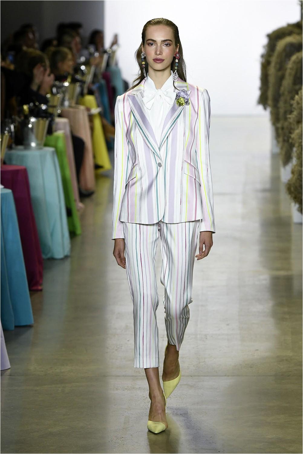 Striped Pants Badgley Mischka