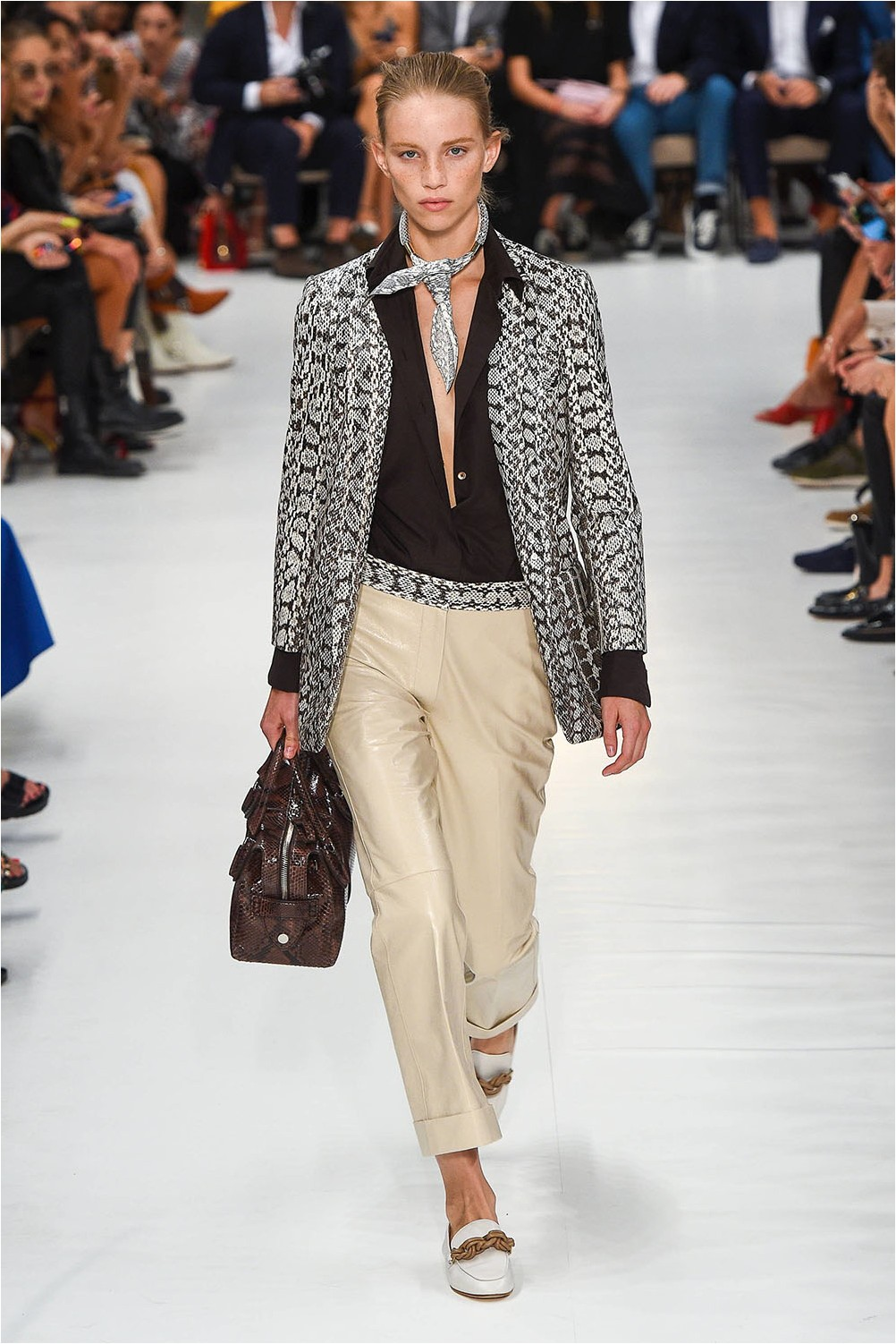 Tod's Leather Pants