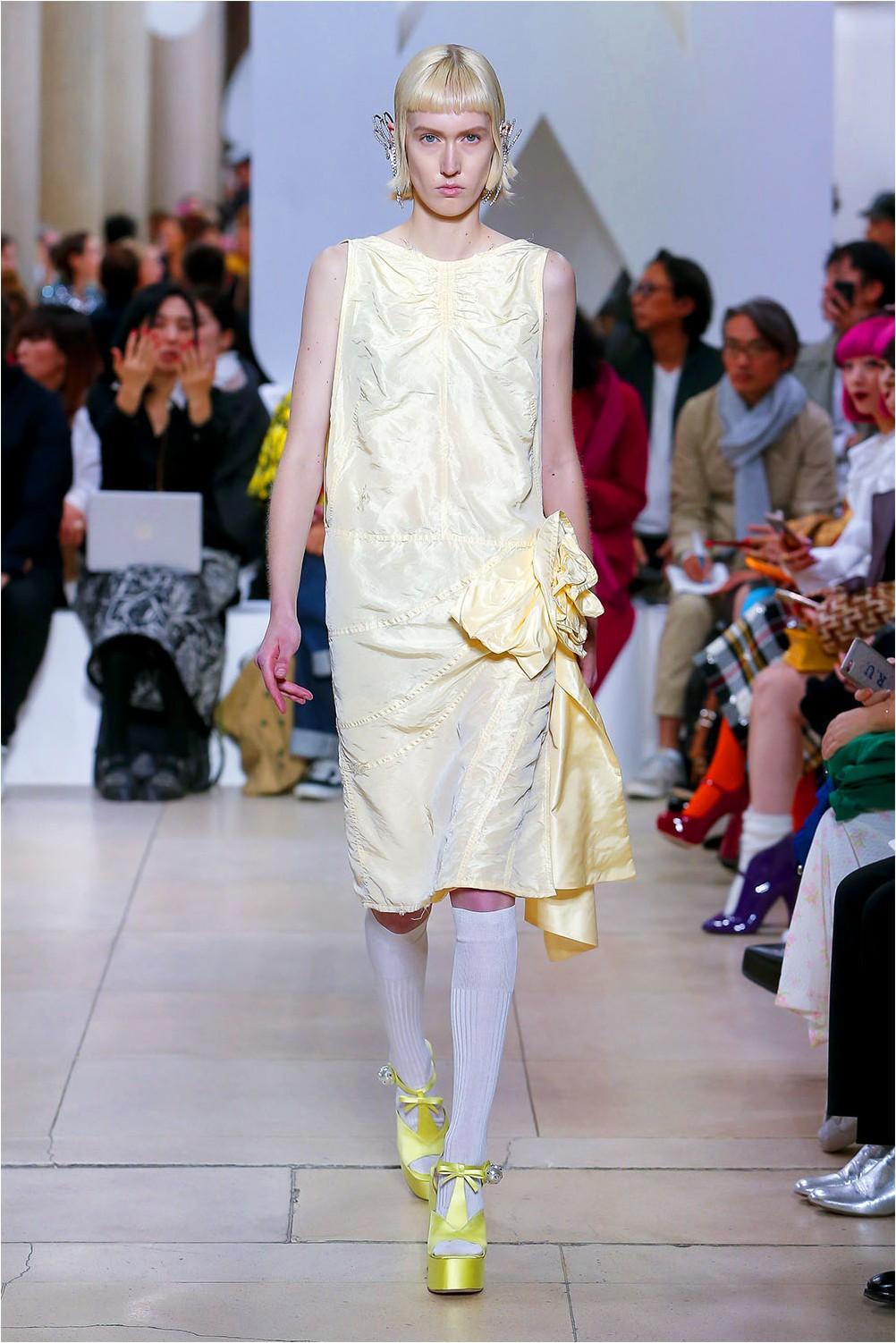 Dress with bows Miu Miu