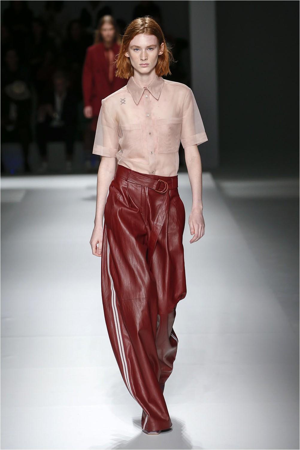 Leather Boss Pants