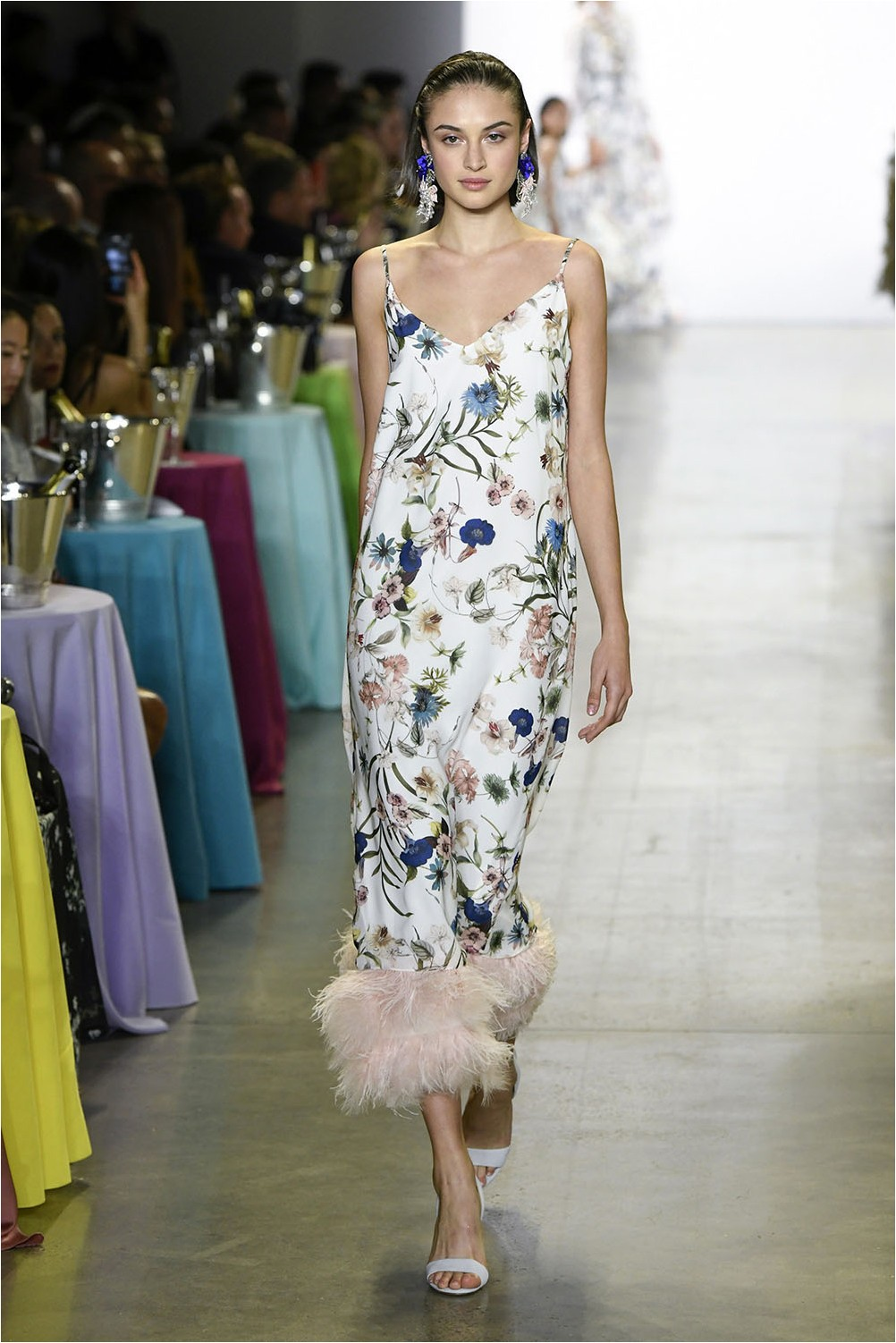 Downg and feathers Badgley Mischka