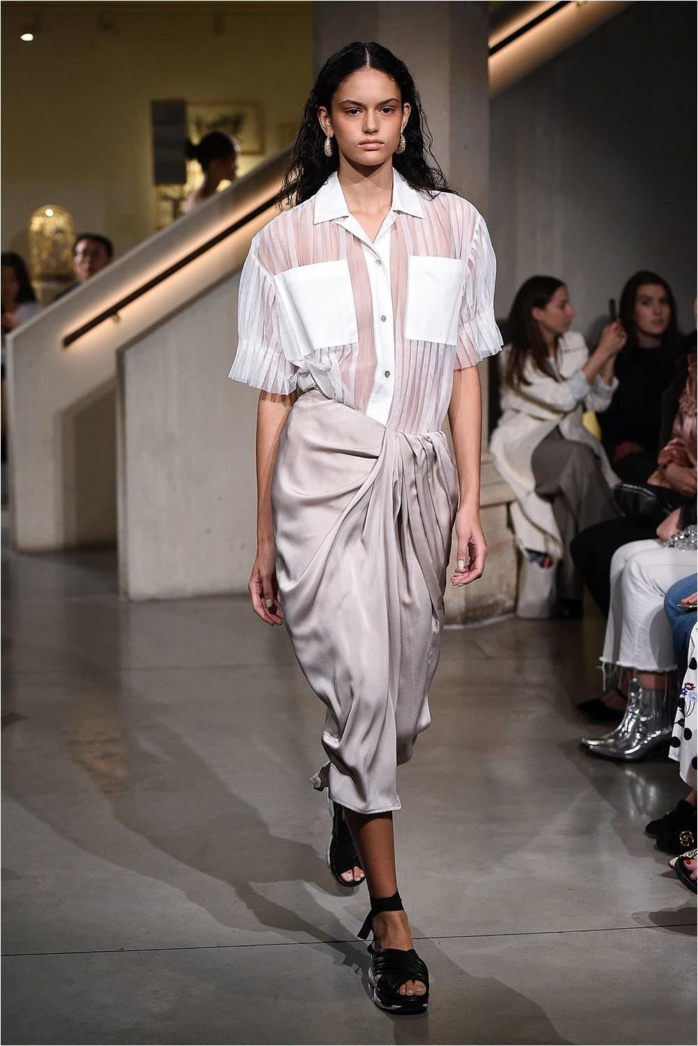 Eudon Choi Wrap Skirt