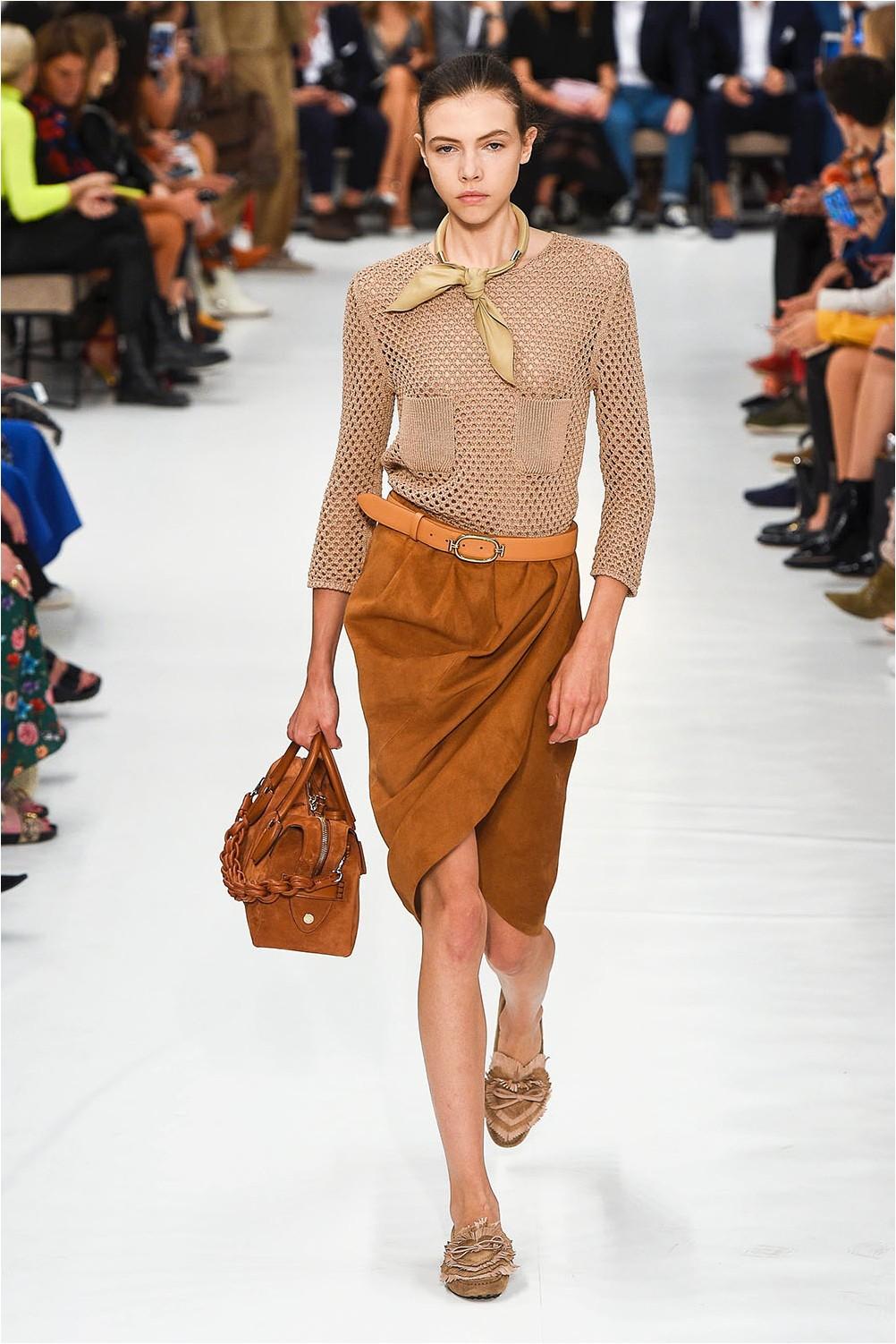 Tod's Wrap Skirt