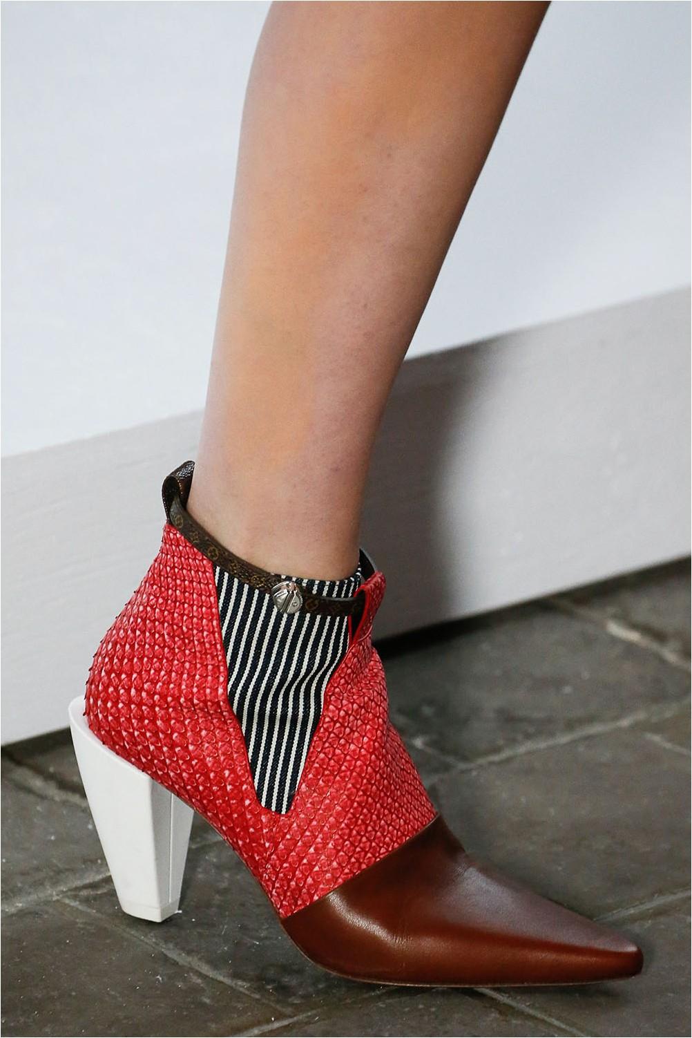 Louis Vuitton combination shoes