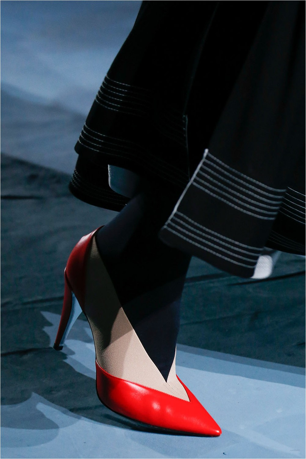 Givenchy combination shoes