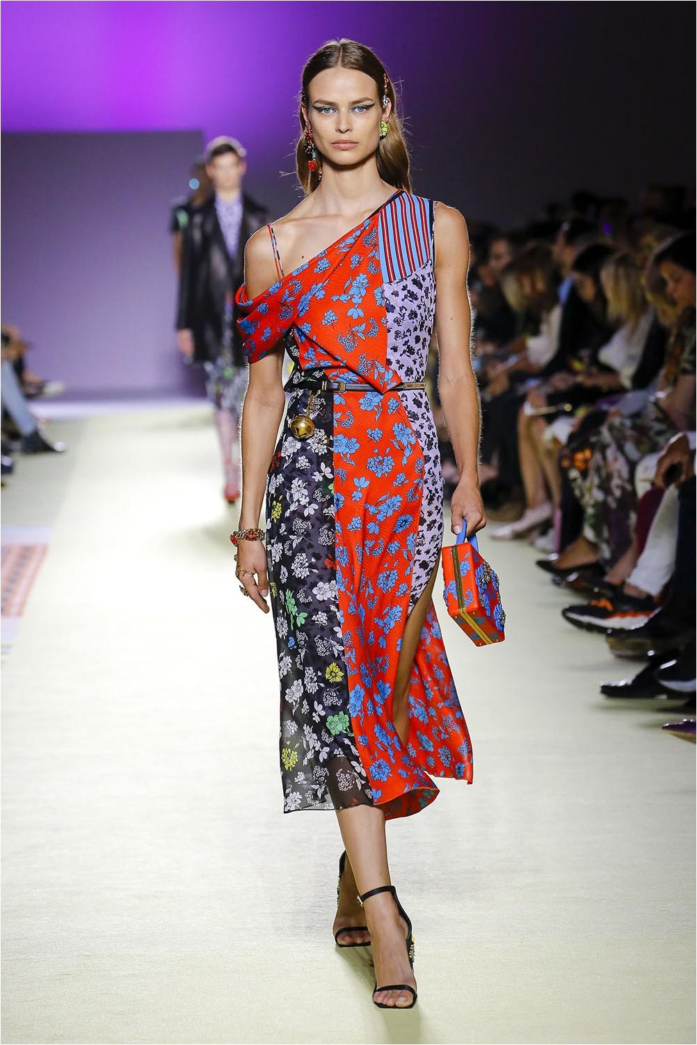 Combination of Versace prints