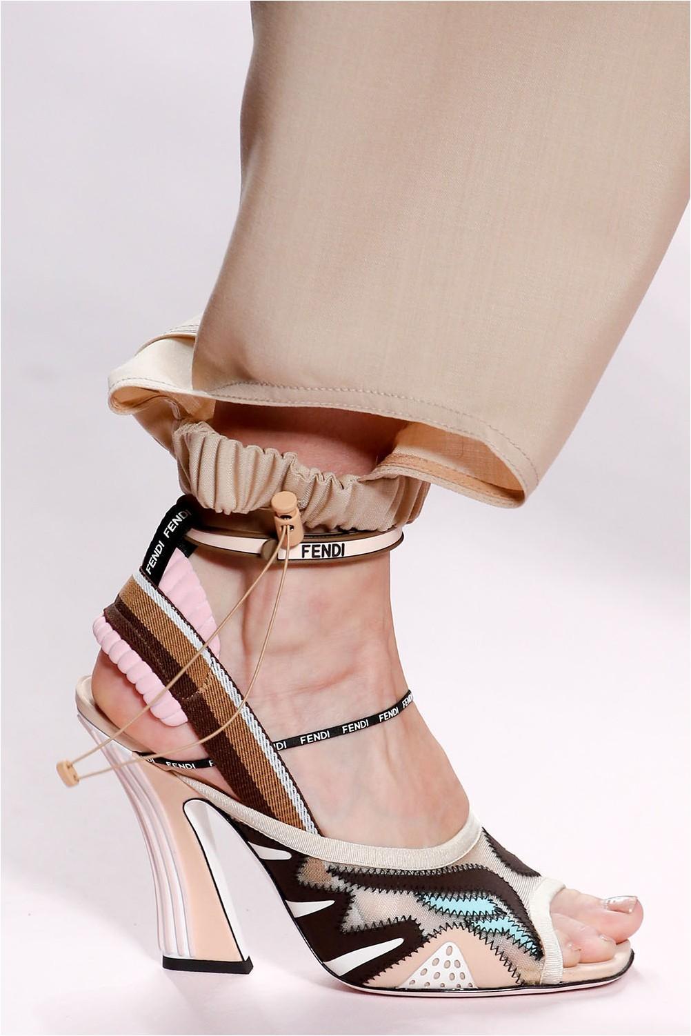 Combined shoes Fendi