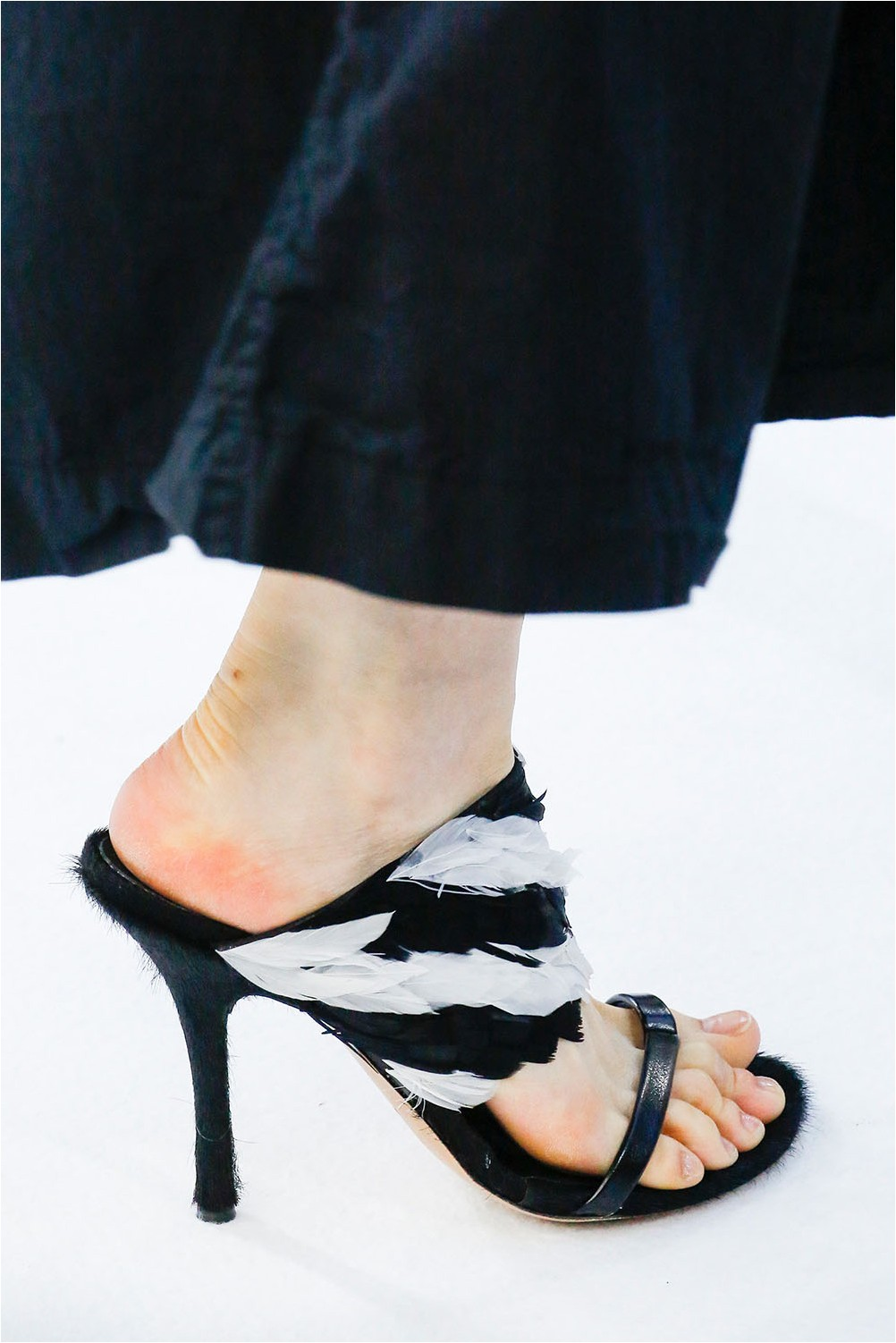 Feather Shoes Dries Van Noten