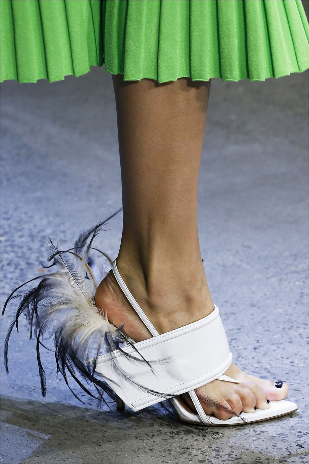 Feather Shoes Prabal Gurung