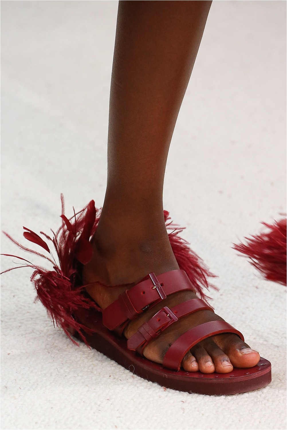 Feather Shoes Valentino