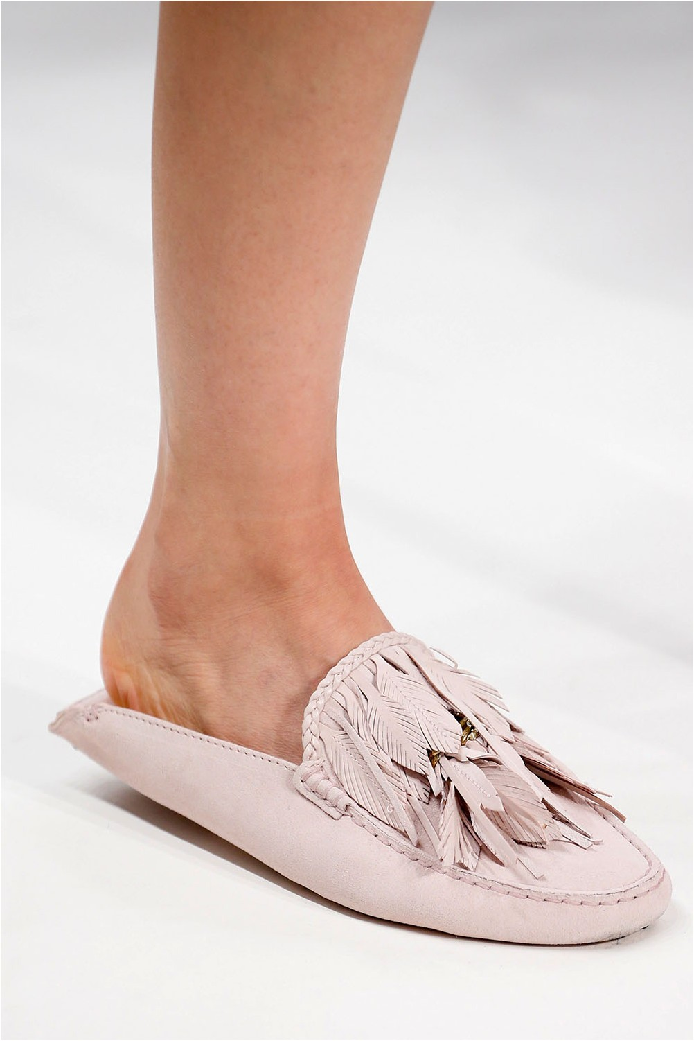 Tod's Feather Shoes