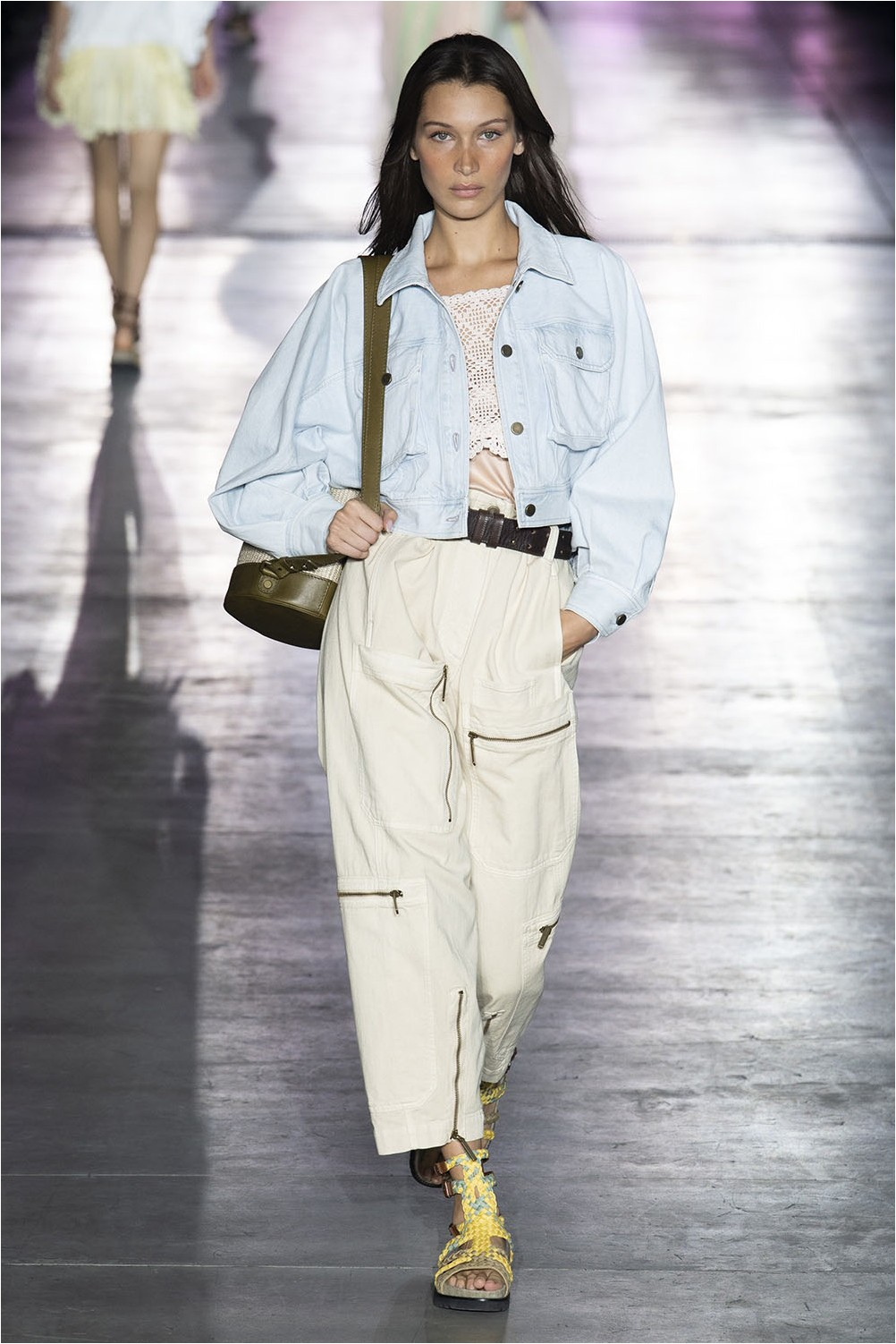 Alberta Ferretti patch pockets