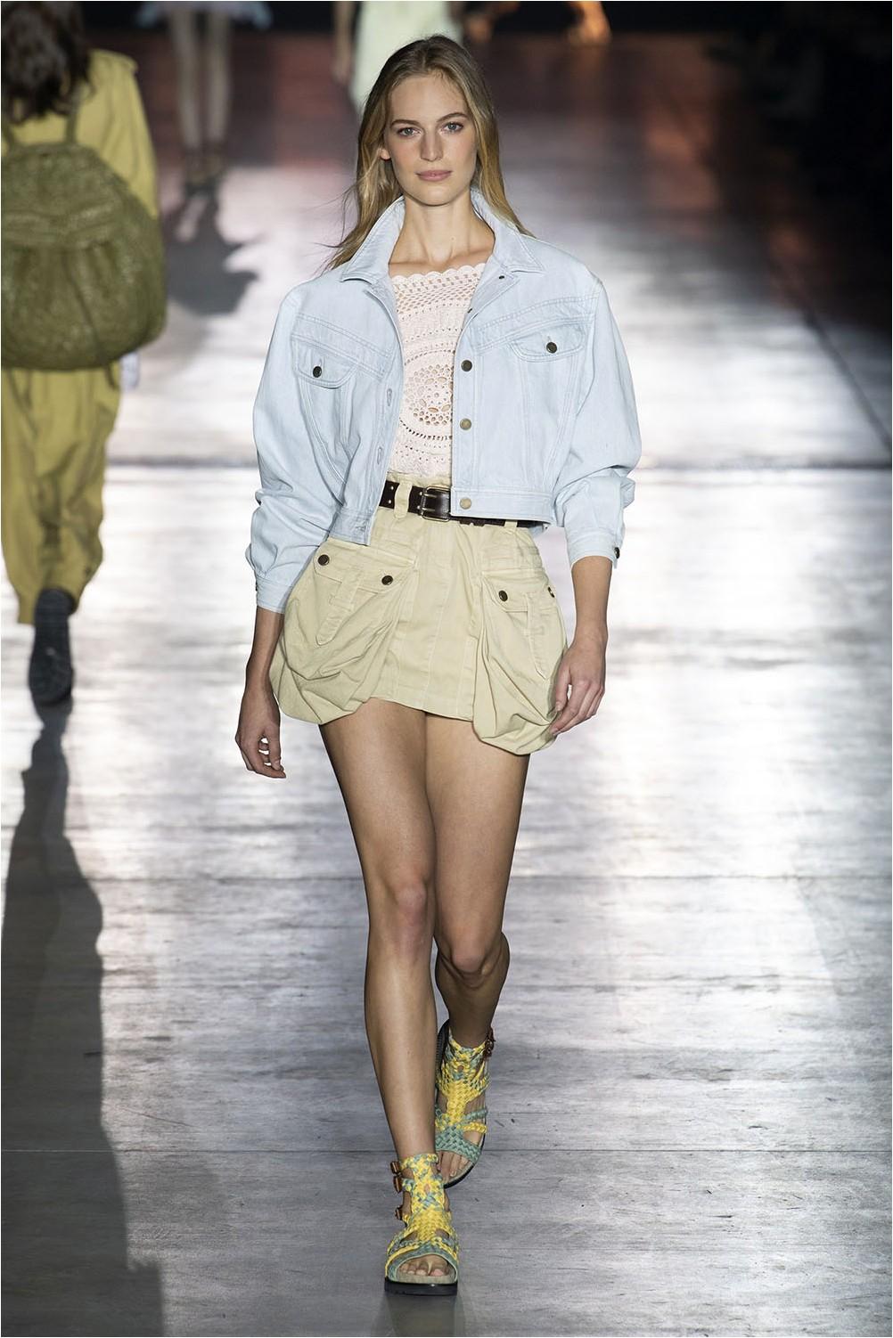 Alberta Ferretti Mini Skirt