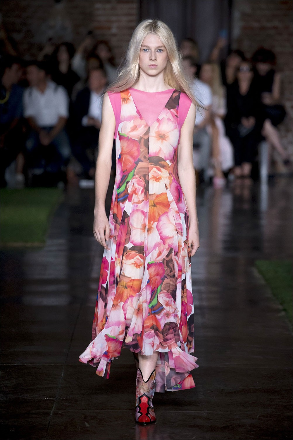 Floral Dress MSGM