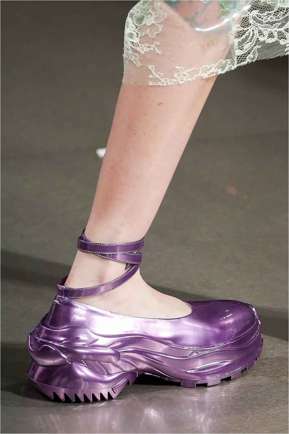 Futuristic shoes Maison Margiela