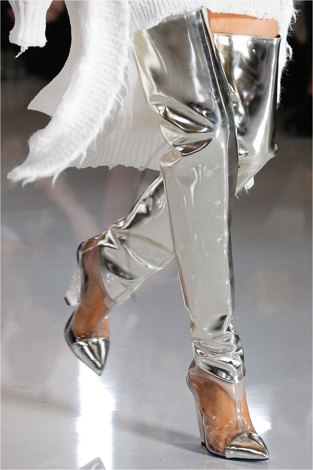 Futuristic Balmain Shoes