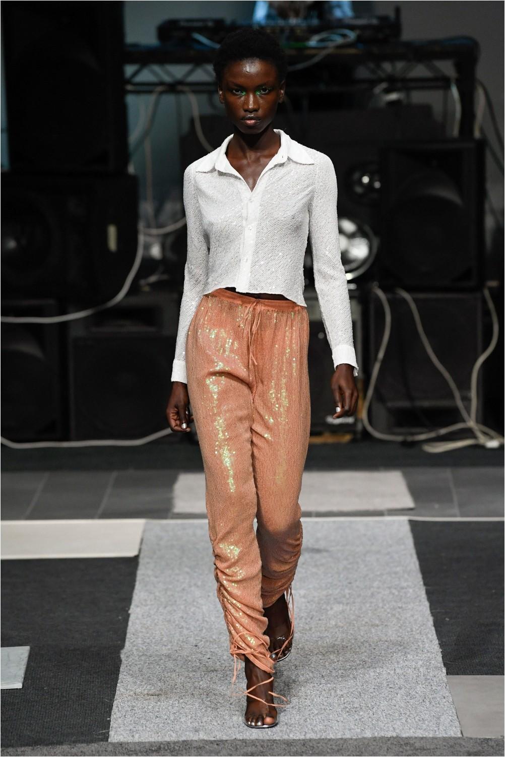Shiny Ashish Pants