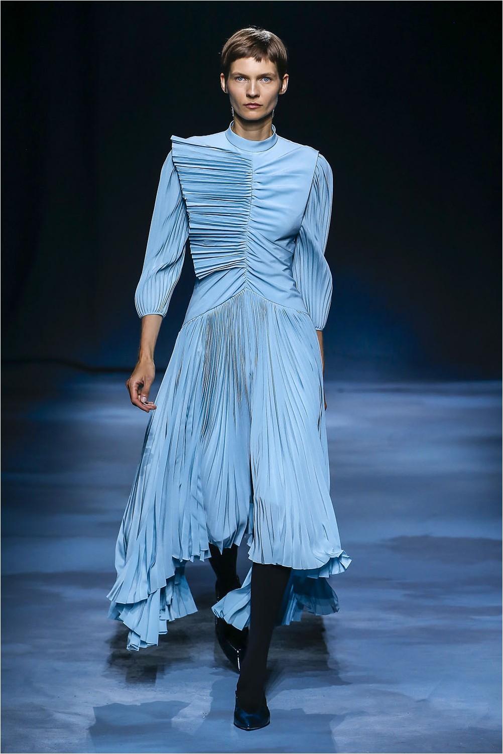 Плисирана рокля Givenchy